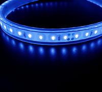 防水テープライト クリアタイプ青色
