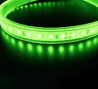 防水テープライト クリアタイプ緑色