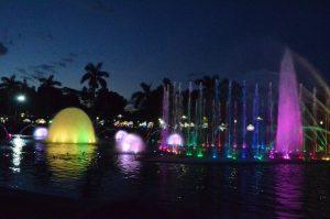 水中照明 噴水照明