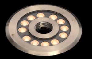 FCB4TA1218 24W噴水専用水中照明RGB