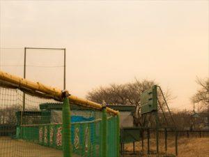屋外野球練習場