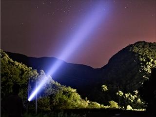 ハンディ投光器実例写真1
