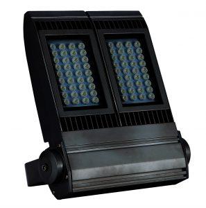 S390-120W 140W投光器 前面写真