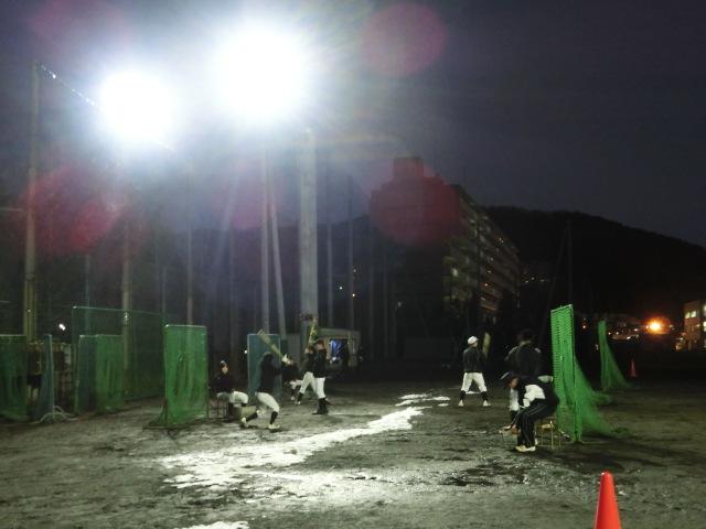 野球練習場導入事例1