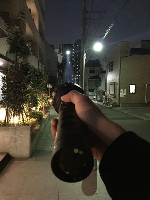 ハンディ投光器実例写真3