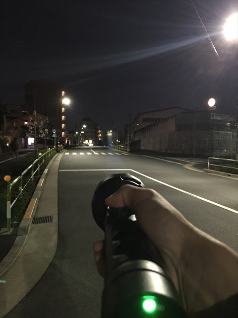 ハンディ投光器実例写真5