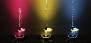 噴水専用水中照明ラインアップ