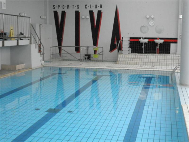 【水中照明】株式会社ビバスポーツ様 スポーツクラブ施設プールへの導入事例
