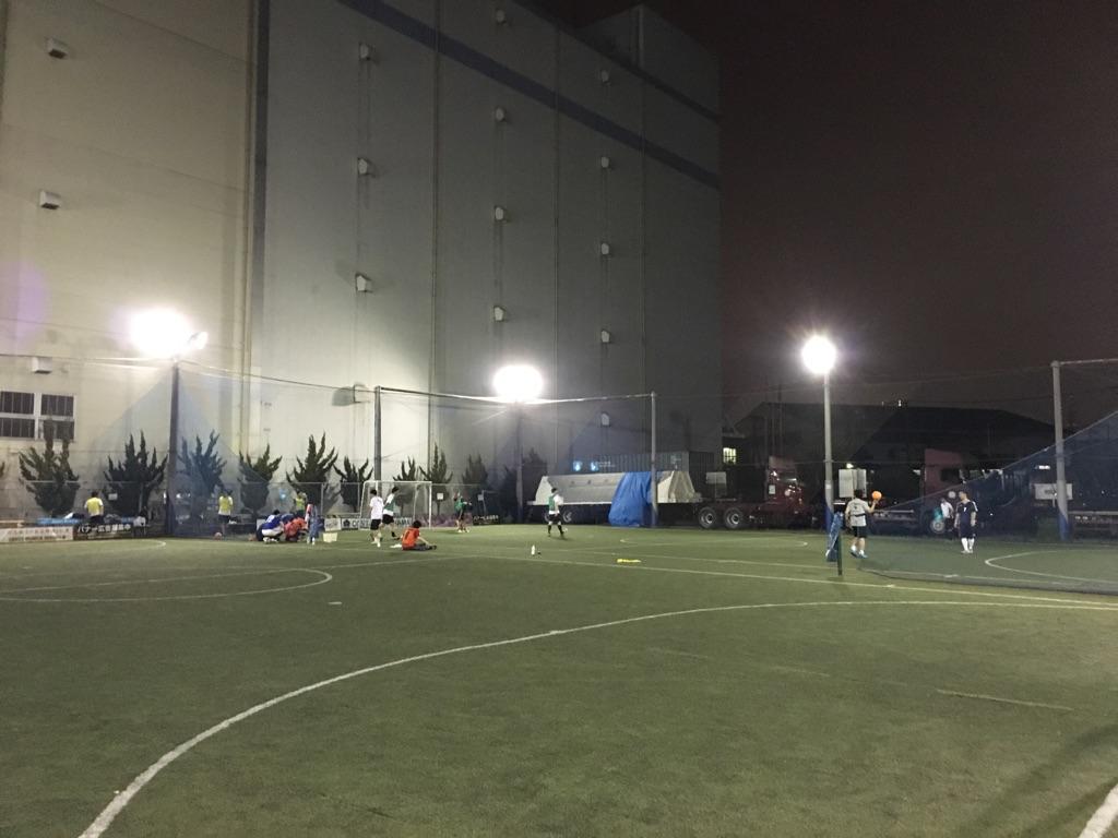 スポーツクラブのフットサルコート写真