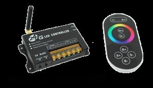 RGBライトコントローラーとリモコン