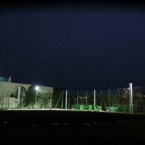 学校グラウンド照明の導入実例写真集