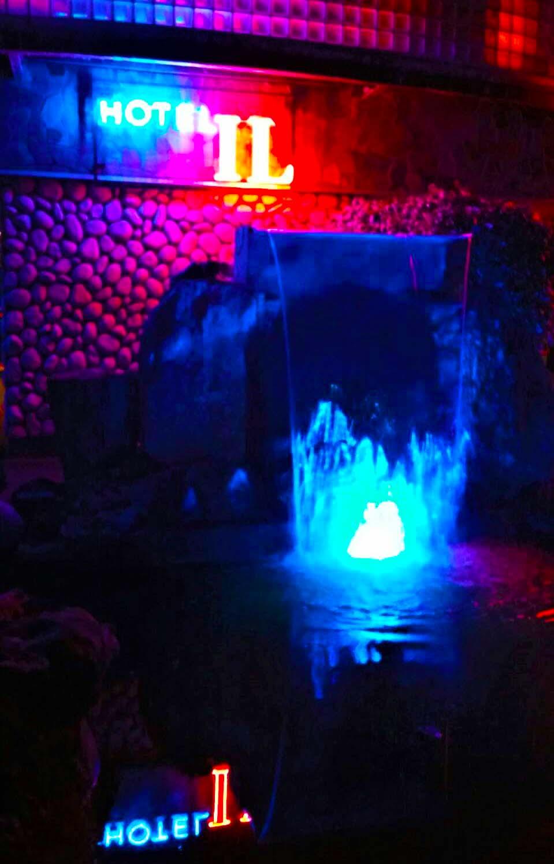 滝 RGBスクエア水中照明