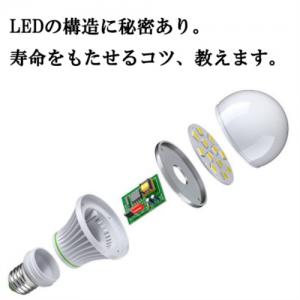 LEDの構造に秘密があった!LEDの寿命をもたせるコツ教えます。