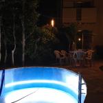 【水中テープライト】O.M様 個人住宅のプールへの導入事例