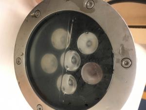 LED水中照明器具故障時の対応の流れ