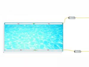 水中テープライトの配線方法をご紹介