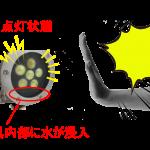 浸水による感電事故の危険性
