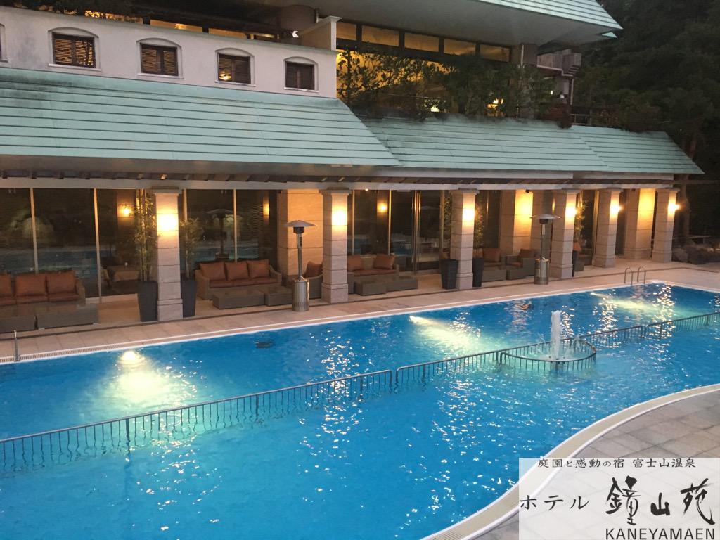 36W壁面埋込型水中照明 ホテル プール
