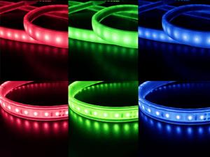 LED水中 カラー  PUテープライト(高温用)