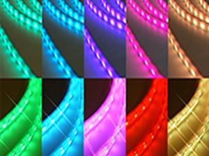 LED水中RGBカラー PUテープライト(高温用)
