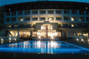 ホテル水中照明