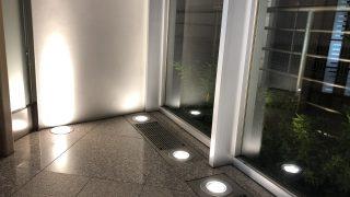 ホテルのエントランス用グランドライト