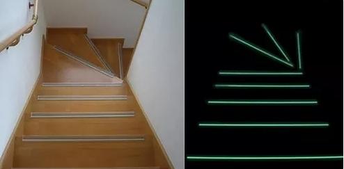 階段すべり止め写真