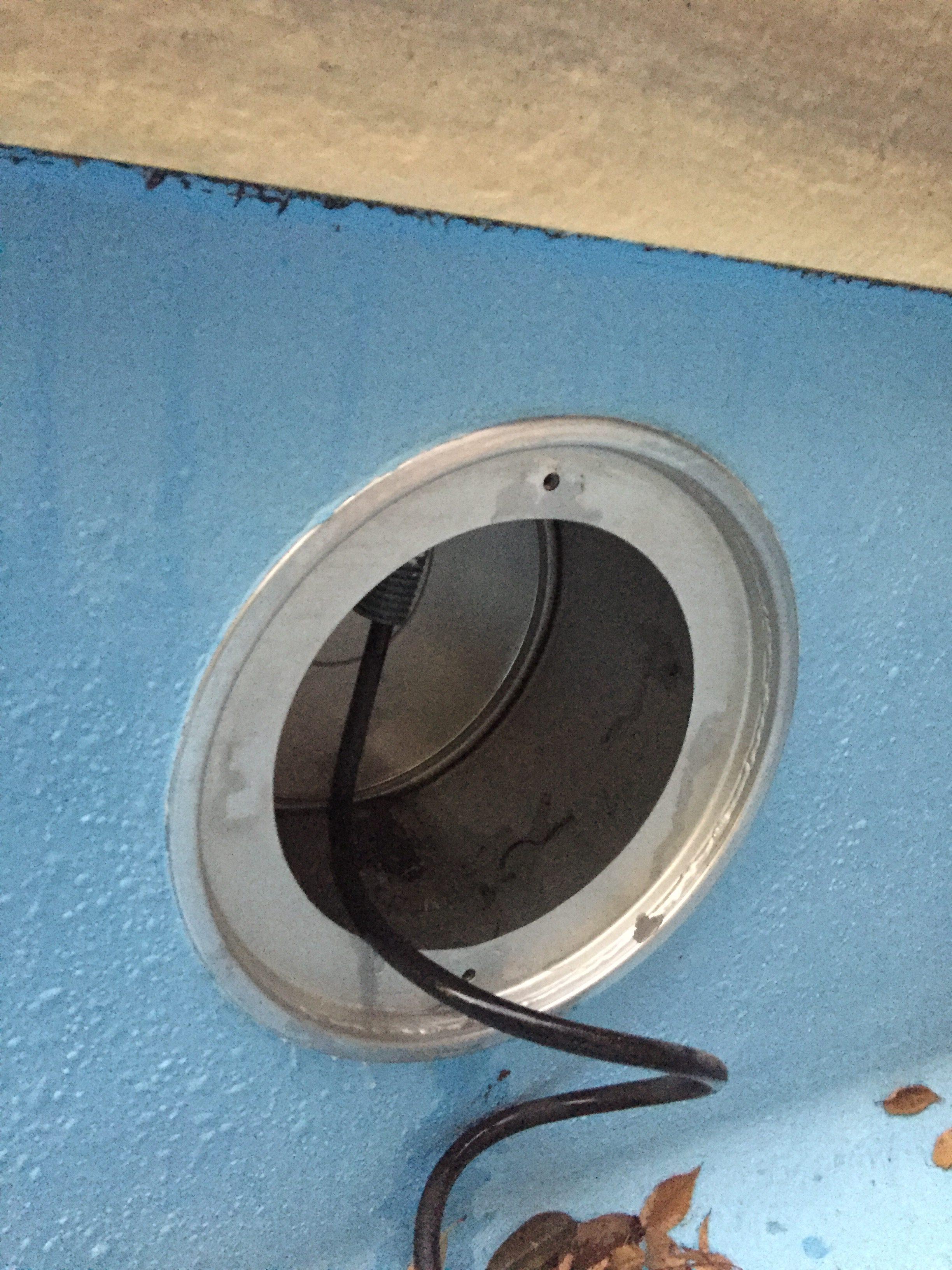 パナソニック製埋込ボックス パナソニック製水中照明(YAX72990)
