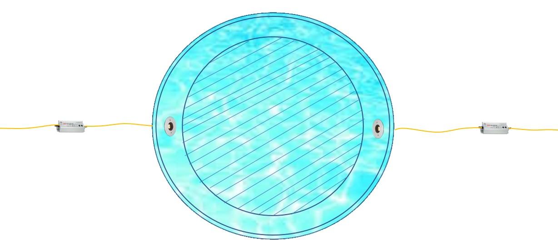 水盤丸形(2台2系統)