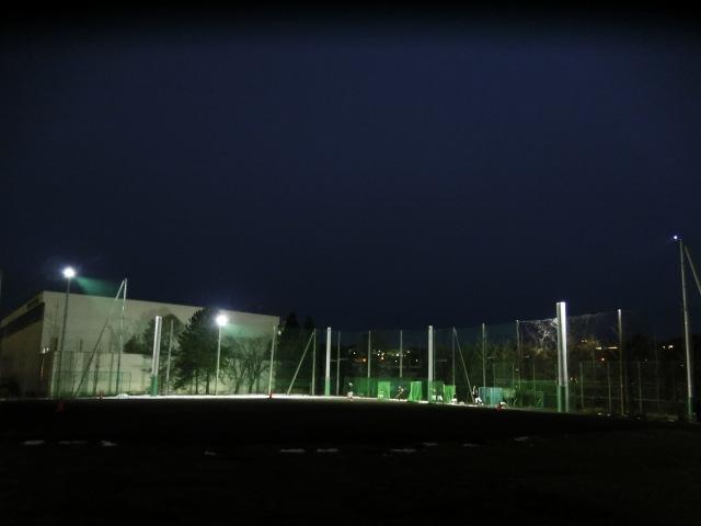 野球練習場導入事例2