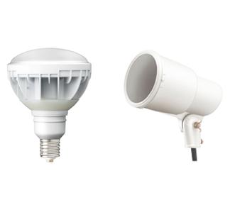 ①電球タイプのLED照明
