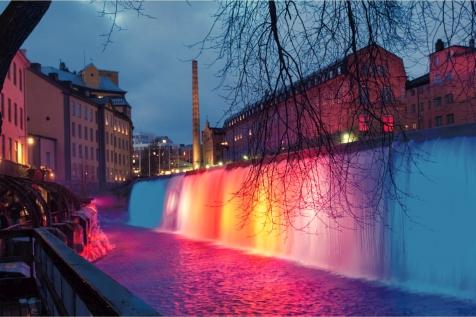 滝用LED水中照明