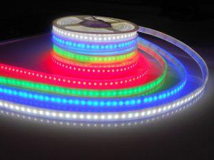 RGB 水中テープライト