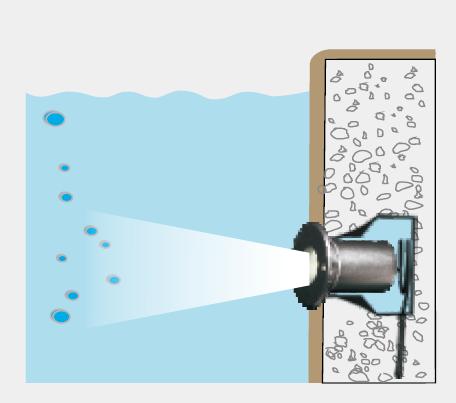 水中照明 単色タイプFCB4A0158