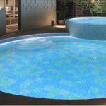 テープライト 水中型 ホテル プール