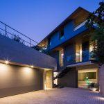 地中照明 屋外 個人住宅