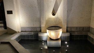ホテルの水盤の納入写真