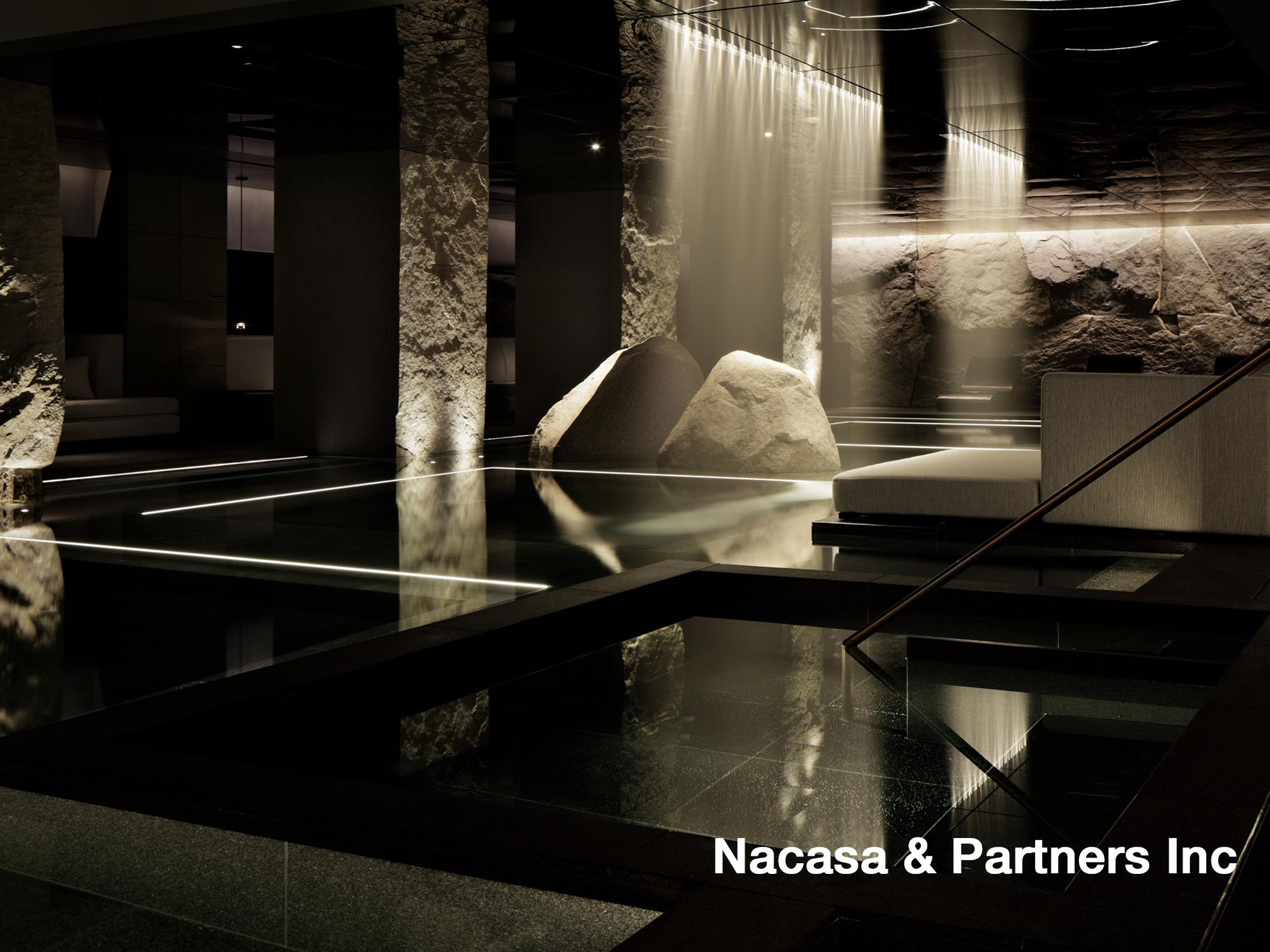 京都新規開業ホテル内温泉施設照明